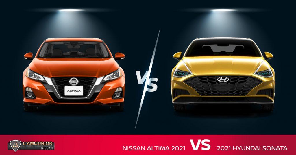 Nissan Altima vs Hyundai Sonata