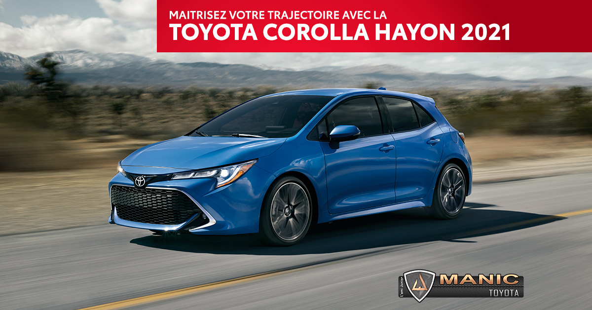 Toyota Corolla à Hayon